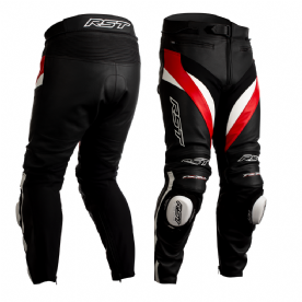 RST Tractech Evo 4 CE Red Leather Jeans
